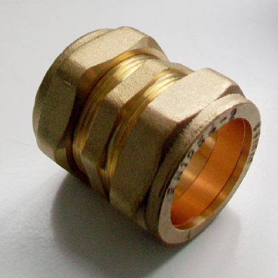 35mm Brass Compression Slip Coupling - 24902198